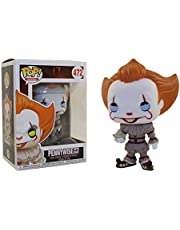Funko Pop It: Pennywise With Boat Nc Games Padrão