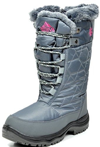 arctiv8-goose-womens-winter-cold-weather-mid-high-faux-fur-snow-boots-grey-size-8