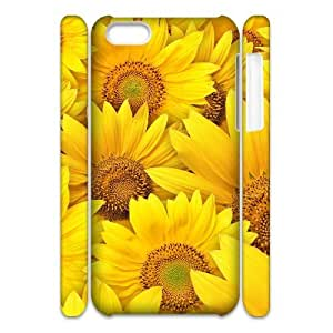 Sunflower Phone Case For Iphone 4/4s [Pattern-1] by icecream design