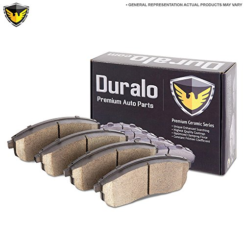New Duralo Ceramic Front Brake Pad Set For Audi A8 & SQ5 - Duralo 144-1718 New (Audi A8 Set)