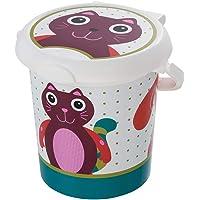 Rotho Baby Design Oops Style - Papelera para pañales Anillo de retención para bolsas higiénicas, 11 l