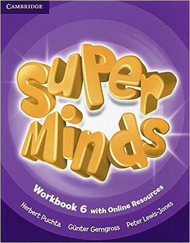 Book Super Minds Level 6 Workbook with Online Resources