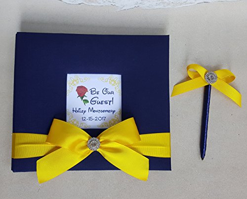 Quinceanera Pen (Custom Beauty and the Beast