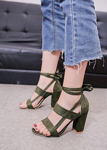 IMAGICSUN Ville de Vert Femme à Chaussures Lacets pour fqwRfZr