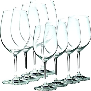 Riedel Vinum, Set of 6 plus 2 Bonus Glasses (4 Bordeaux & 4 Chablis)