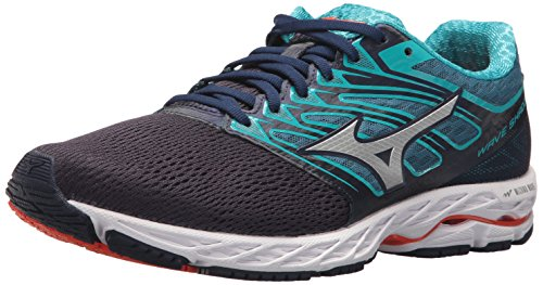 Mizuno Running Men's Mizuno Wave Shadow Running-Shoes,eclipse/silver,10 D US ()