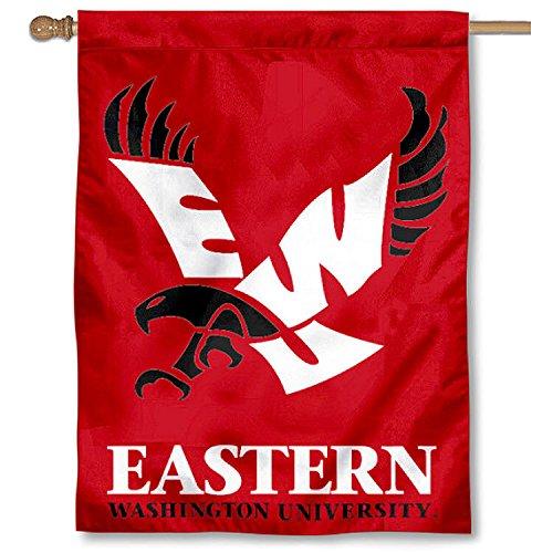 Eastern Washington EWU Eagles House Flag