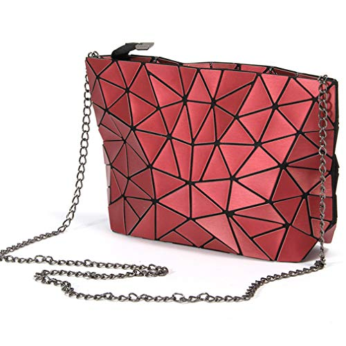 Messenger Messenger Ladies Wine Chain Chain Color Ladies Bag Clutch Bag Bag Wine Bag Clutch Red Color 7wYqBBA