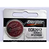 2PC Energizer CR2012 2012 3V Lithium Coin Cell Battery - Made in Japan