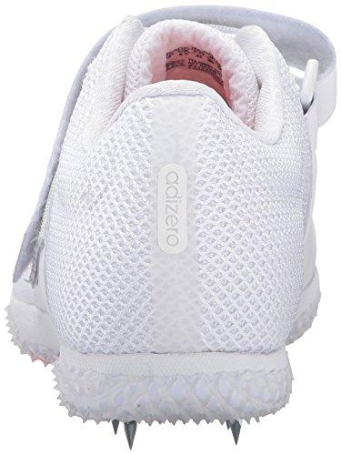Adidas Adizero unisex Rendimiento Hj running Con Los Puntos White/Infrared/Metallic Silver
