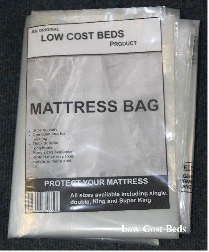 Colchón bolsa de almacenamiento para 4 ft. Colchón Y 4 ft6 doble de plástico de polietileno, eliminación protección protector Cover: Amazon.es: Hogar