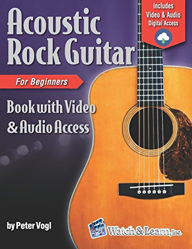 Acoustic Rock Guitar Book for Beginners: with Online Video & Audio Access ()