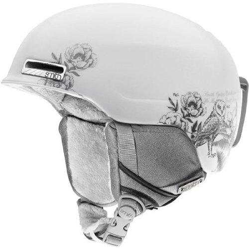 Smith Optics Allure Helmet (Small/51-55-cm, White Botanical), Outdoor Stuffs
