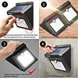 Solar 28 LED Motion Sensor Lights Outdoor, ZOOKKI