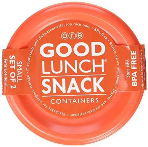 Sugarbooger Good Lunch Small Snack Container, My Garden, 2 Count (Sugarbooger Snack Containers)
