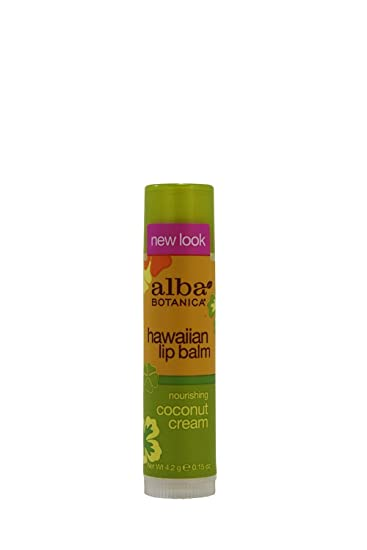 Alba Botanica Hawaiian Lip Balm Coconut Cream -- 0.15 oz (pack of 4) Charcoal Face Mask - 9 oz. by Collective Wellbeing (pack of 3)