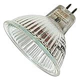 Sylvania 58328-50W Halogen Light Bulb - MR16 - Tru-Aim - FNV Wide Flood - Glass Face 12V, 20 Pack
