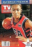 Signed WNBA USA Swin Cash Autographed Tv Guide
