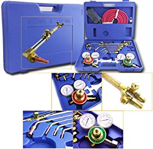 Generic LQ..8..LQ..1613..LQ g Kit O Kit Oxygen Torch e Gas W Welding & Cutting Tor Acetylene Welder cetylen Victor Type Gas Tool Case Tool Case US6-LQ-16Apr15-310 by Generic