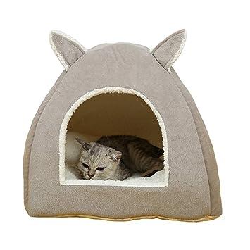 Yiuu Casa para Gatos o Perros, Lujo Cama para Gatos/Perros Pequeños/Mascota