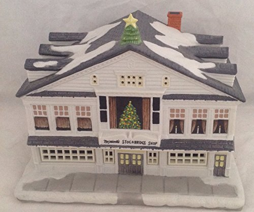 Boston Christmas Tree Delivery: Norman Rockwell Christmas Village For Sale