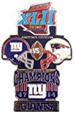 Super Bowl XLII Oversized Commemorative Pin