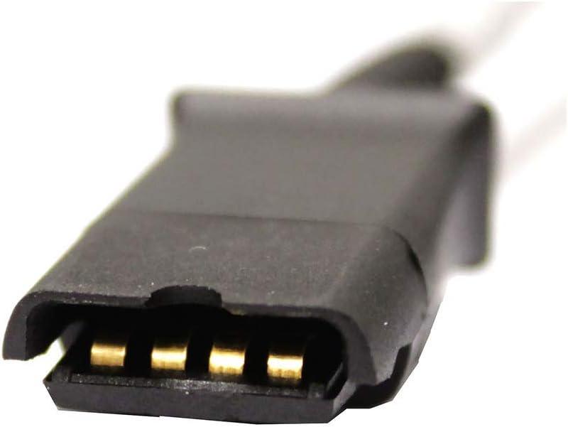 Cavo Compatibile con Plantronics QD 2 minijack da 3,5mm BeMatik