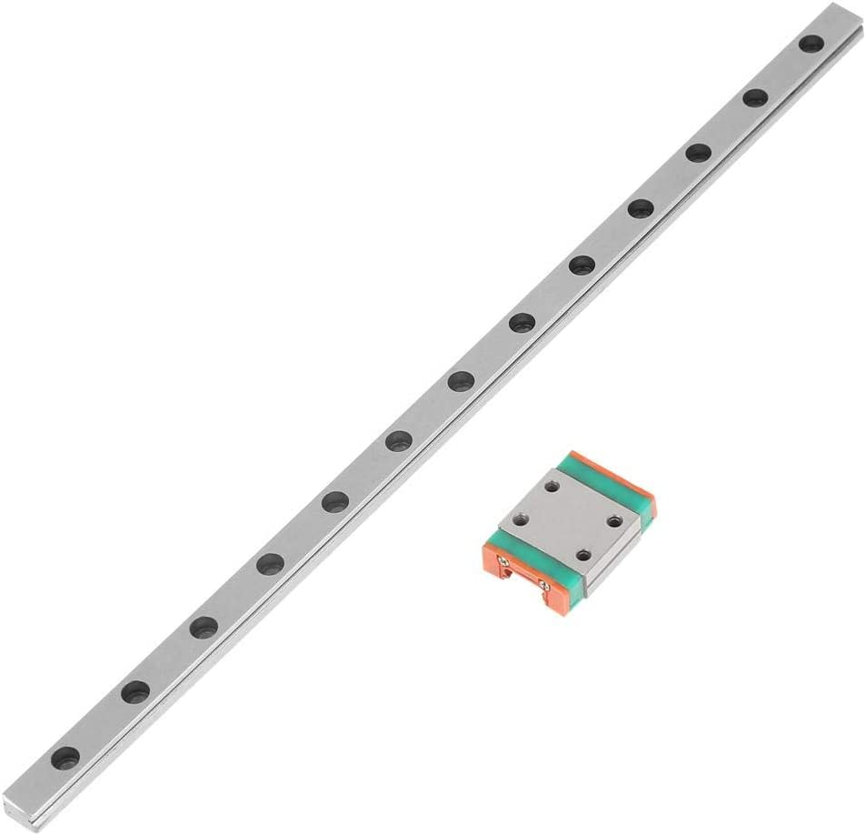 200mm Sliding Rail 1pc Steel High Precision Miniature Linear Sliding Rail Guide Block 200mm 300mm 500mm Speed Motor Miniature Guide Rail