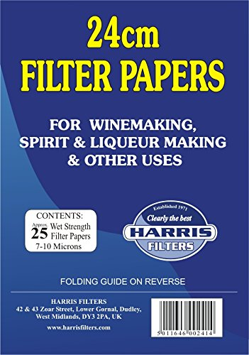 Harris Filters 24cm Vinpapers (Filter Papers)