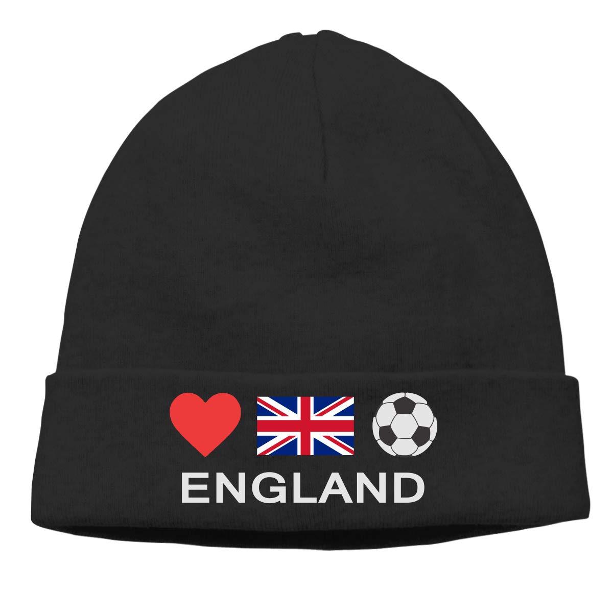 Amazon.com  KELLYMOLL England Football England Soccer Comfortable Adult  Men s and Women s Wool Cap Black  Clothing 2421aa0cb69