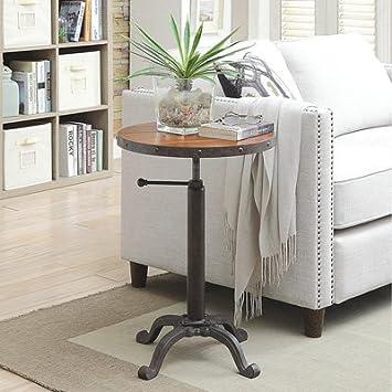 Carolina Forge Rachelle Adjustable Vintage Table