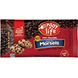 3 bag pack - Enjoy Life Dark Chocolate Chips Morsels, Each bag 9.0 oz
