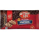 3 bag pack - Enjoy Life Dark Chocolate Chips Morsels, Each bag 9.0 oz
