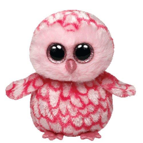 Beanie Baby Owl (Ty Beanie Boos Pinky Pink Barn Owl Plush)