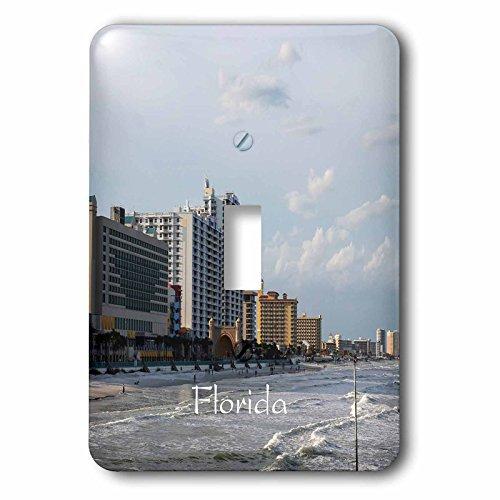 3dRose Florida - Image of Famous Daytona Beach - Light Switch Covers - single toggle switch - Florida Outlets Beach Daytona