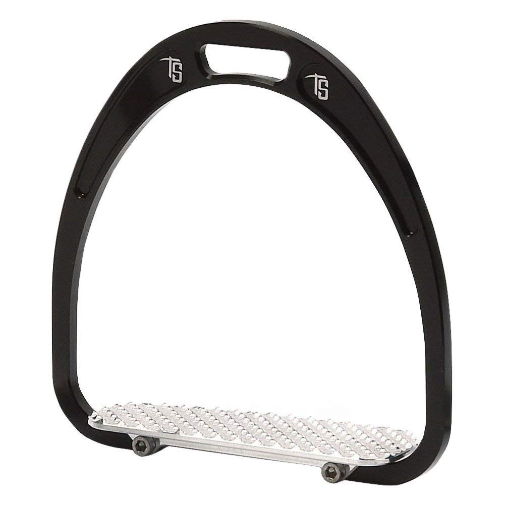 Tech Stirrups Rome Racing Stirrup Irons One Size Black