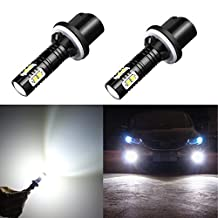 Alla Lighting CREE 50W 880 899 High Power LED Fog Lights or Daytime Running Lights DRL Bulbs Lamps Replacement 893 886 890 892