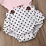 Toddler Baby Girl Summer Clothes Ruffles Backless