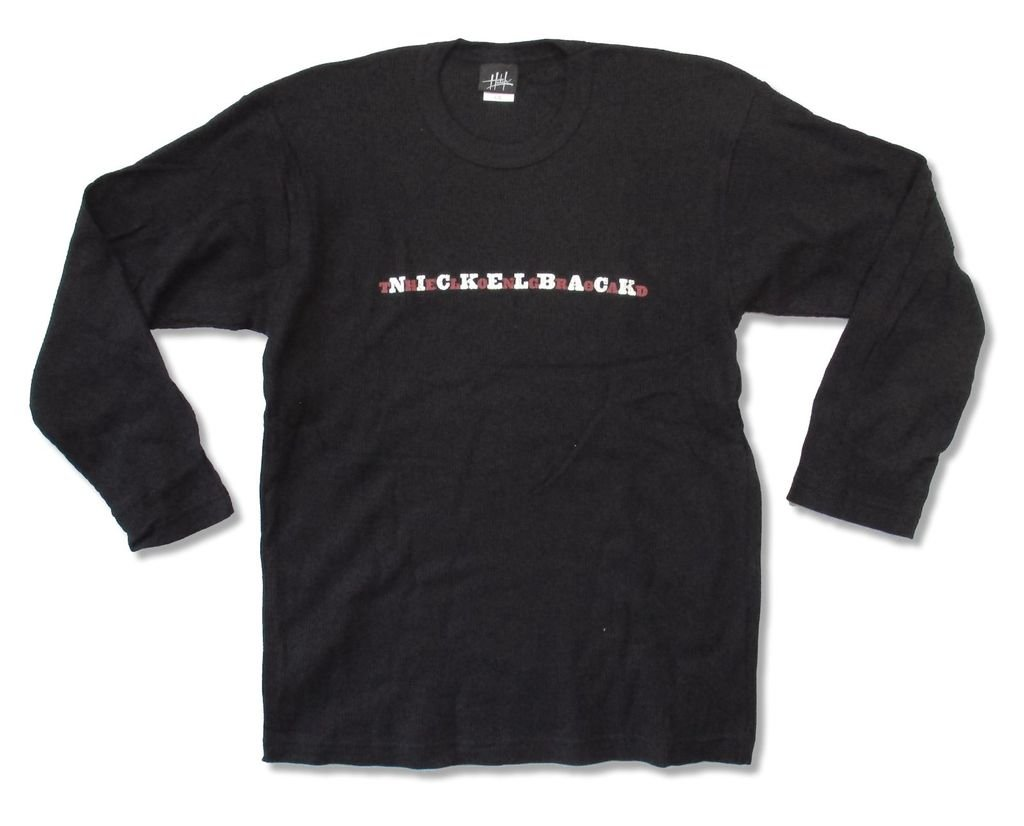 Nickelback The Long Road Adult Black Thermal Shirt