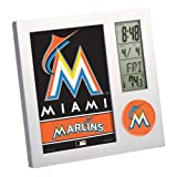 MLB Miami Marlins Digital Desk Clock