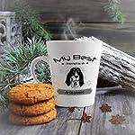 Ceramic Custom Latte Coffee Mug Cup My Best Friend Is Ariegeois Dog Tea Cup 12 Oz Design Only 12
