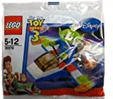 Lego Disney / Pixar Toy Story Exclusive Mini Figure Set #30070 Green Alien With Space Vehicle Bagged