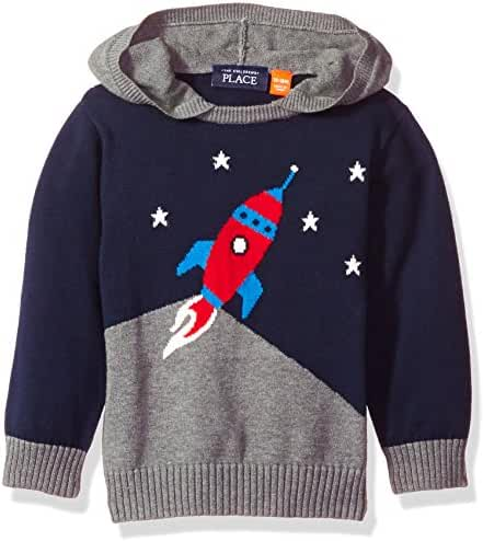 The Children's Place Boys' Colorblocked Hooded Sweater