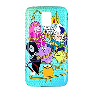 Adventure Time Snap on Plastic Case Cover Compatible with Samsung Galaxy S5 GS5
