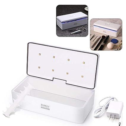 Limpiador de Botellas, Caja Inteligente de Desinfección UV Incluye Recordatorio de voz LED Para Pincel