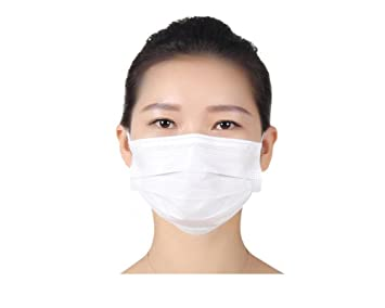 Ear Loop Face Length Dust 17 Disposable 5cm Respirators Stretchy