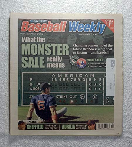 Nomar Garciaparra - What the Monster Sale of the Boston Red Sox Really Means - Baseball Weekly Magazine - January 23, 2002