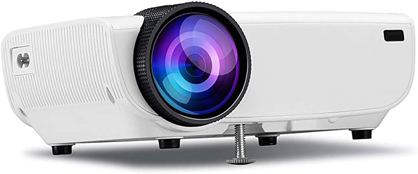 Proyector Full HD 1080P 4500: 1 Contraste Mini proyector de Video ...
