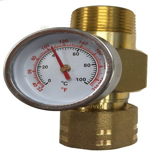 SHARKBITE/CASH ACME SB-25376 3/4 Temperature Gauge Accessory