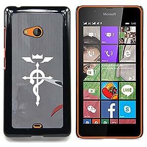 SKCASE Center / Funda Carcasa protectora - Medicina Cruz;;;;;;;; - Nokia Lumia 540